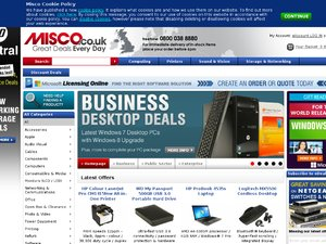 Misco website