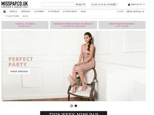 Miss Pap website