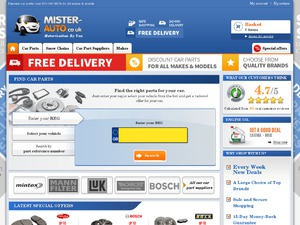 Mister Auto UK website