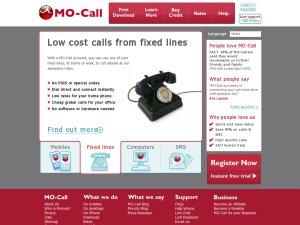 MO-Call website