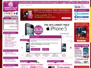 Mobiles.co.uk website