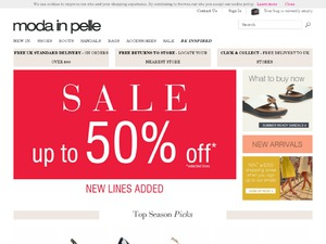 Moda in Pelle website