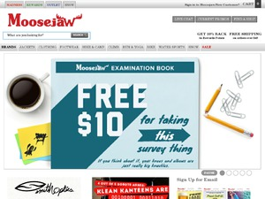 Moosejaw website