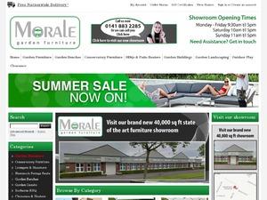 Morale Garden Furniture website
