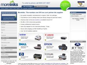 MoreInks website