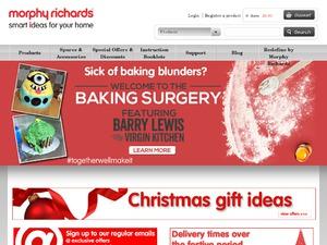 Morphy Richards website
