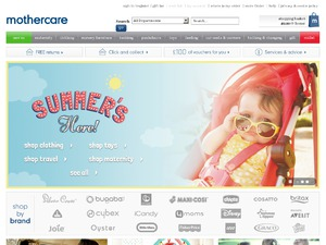 Mothercare website