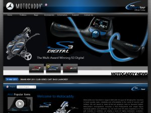 Motocaddy website