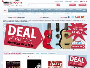 Musicroom website