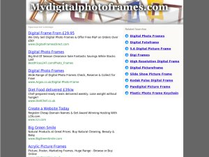 mydigitalphotoframes website
