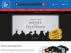 My Geek Box website