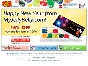 Jelly Belly website