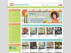 My Memories Suite website