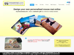 Mymousemat website