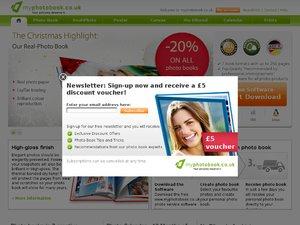 MyPhotoBook website