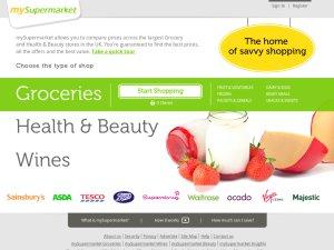 mySupermarket.co.uk website