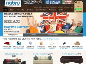 Nabru Furniture website