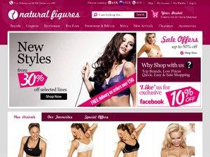Natural Figures website