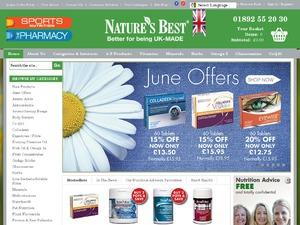 Natures Best website