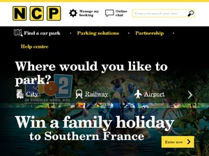 NCP website