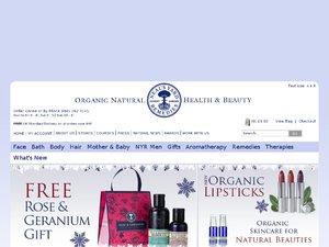 Neals Yard Remedies website
