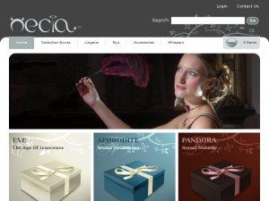 Necia website