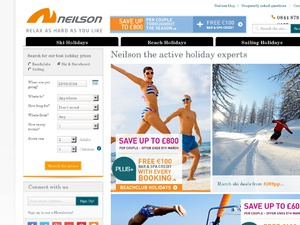 Neilson Active Holidays website