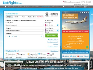 Net Flights website