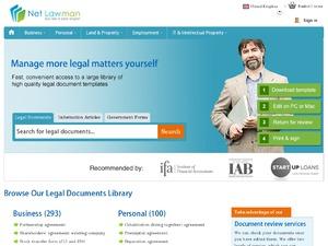Net Lawman website