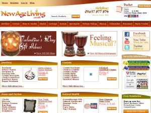 New Age Living website