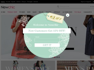 Newchic UK website