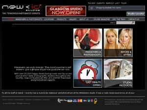 New Id Studios website