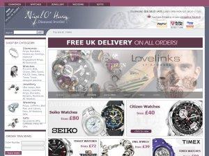 Nigel O Hara website
