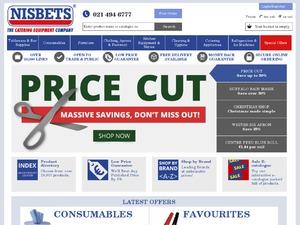 Nisbets IE website