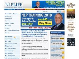 NLPlifetraining website