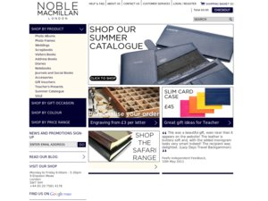 Noble Macmillan website