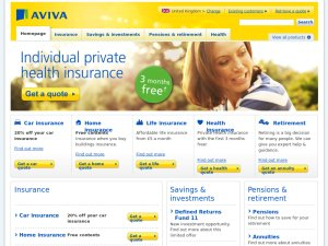 Norwich Union website
