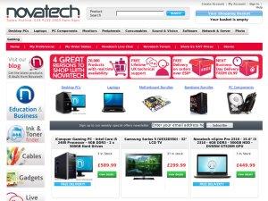 Novatech website