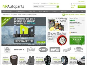 NP Autoparts website