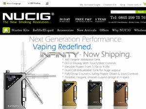 Nucig website