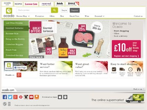 Ocado website