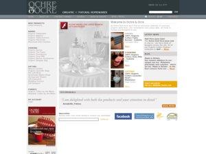 Ochre & Ocre website