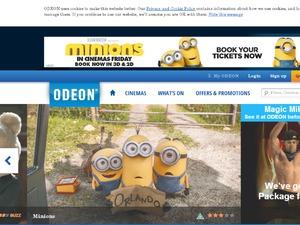 Odeon website
