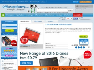 Office Stationery website