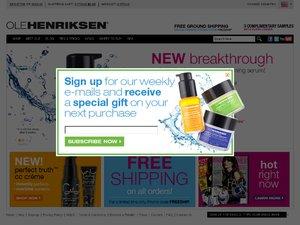 Ole Henriksen website
