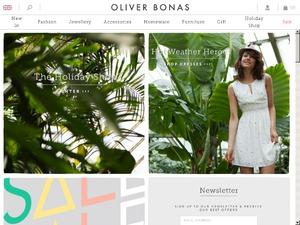 Oliver Bonas website