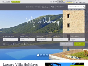 Olivers Travels website