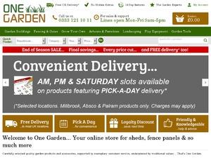One Garden website