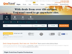 One Travel website