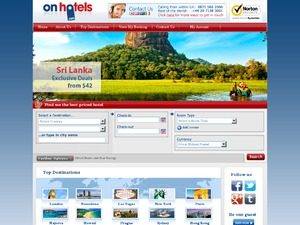 Onhotels.com website